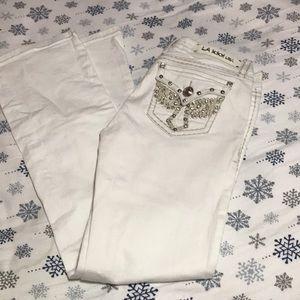 La idol usa jeans size 9 31x34